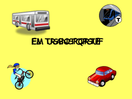 EL TRANSPORTE - Languages Resources