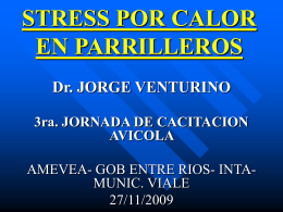 CONSECUENCIAS STRESS CALOR