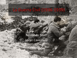 La Guerra Civil (1936