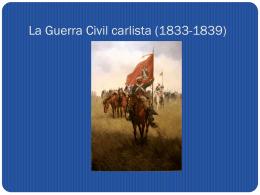 La Guerra Civil carlista (1833