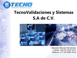 www.tecnovalidaciones.com