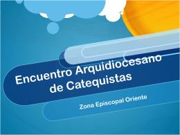 Encuentro Arquidiocesano de Catequistas