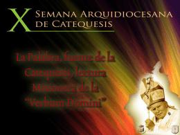 X Semana Arquidiocesana de Catequesis
