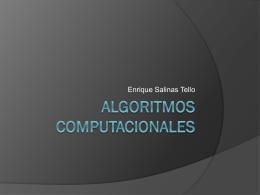 ALGORITMOS COMPUTACIONALES - Eduteka