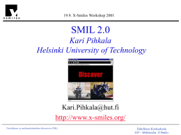 SMIL 2.0 - X