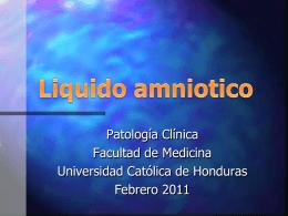 Evaluacion de Liquido amniotico