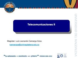 Telecomunicaciones II