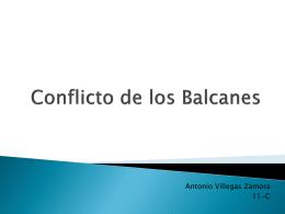 Conflicto en los Balcanes