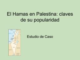 El Hamas en Palestina: claves de su popularidad