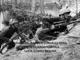 PRIMERA GUERRA MUNDIAL (1914