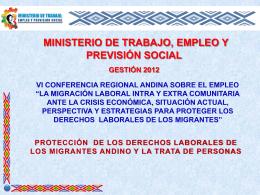 Diapositiva 1 - Portal de la Comunidad Andina