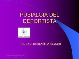 Pubialgia del Deportista - BIENVENIDOS A LA PAGINA