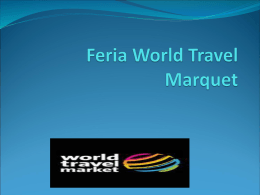 Feria World Travel Marquet