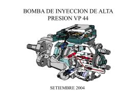 BOMBA DE INYECCION DE ALTA PRESION VP 44