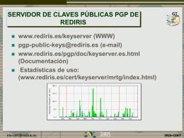 Grupos de Trabajo RedIRIS 2000