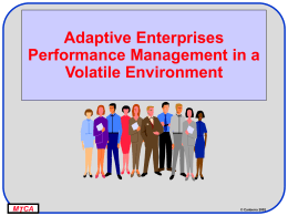 Adaptive Enterprises - Niwot Ridge Consulting