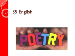 Poetry - Wikispaces