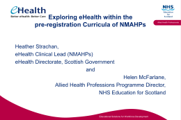 AHP PRACTICE EDUCATION FACILITATORS PROGRAMME