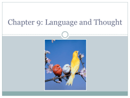Chapter 2: Psychology As a Science