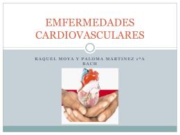 EMFERMEDADES CARDIOVASCULARES