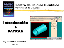Base de Datos PATRAN