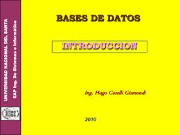 Sistema de Base de Datos