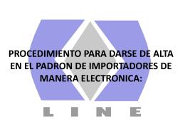 Diapositiva 1 - Agencia Aduanal Almazo Line