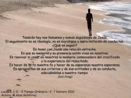 Tiempo Ordianrio 5 C 7-2-10
