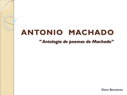 ANTONIO MACHADO - APSPANISHMRSESCOBAR