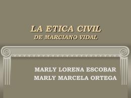 LA ETICA CIVIL DE MARCIANO VIDAL