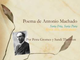 Poema de Antonio Machado