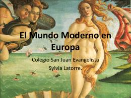 El Mundo Moderno en Europa