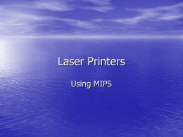 Laser Printers - UH Cullen College of Engineering