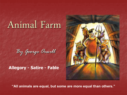 Animal Farm - World of Teaching