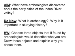 Chapter 3: Ancient Indian Civilizations
