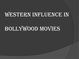 Infulence vs occupy? Hollywood, an inseparable part of