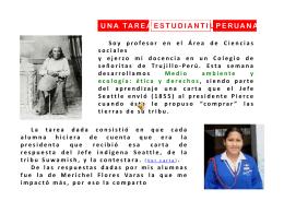 Tarea estudiantil peruana 2007