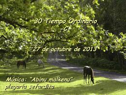 Salmo 33 - 30 Tiempo Ordinario C