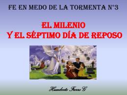 El Milenio y el Fin del Pecado