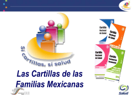 MANUAL DE PROCEDIMIENTOS DE CARTILLAS …