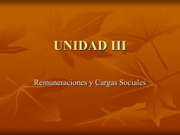 UNIDAD III - Aula Virtual FCEQyN