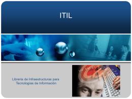 ITIL - www.reduvm.com | Sitio web de los alumnos y