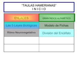 Taulas hamerianas - Piramides Energeticas Nueva Medicina