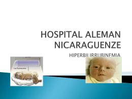 HOSPITAL ALEMAN NICARAGUENZE