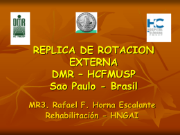DIVISION DE MEDICINA DE REHABILITACION HOSPITAL …