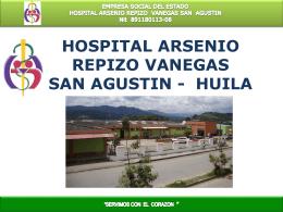HOSPITAL ARSENIO REPIZO VANEGAS SAN AGUSTIN