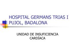 HOSPITAL GERMANS TRIAS I PUJOL, BADALONA