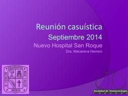 CASUISTICA Hospital Nuevo San Roque