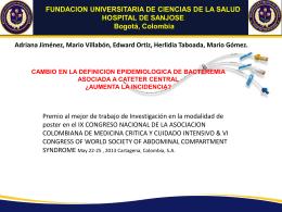 FUNDACION UNIVERSITARIA DE CIENCIAS DE LA SALUD …
