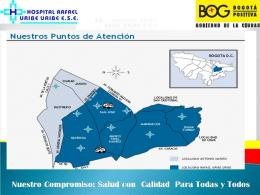 Diapositiva 1 - Hospital Rafael Uribe Uribe ESE